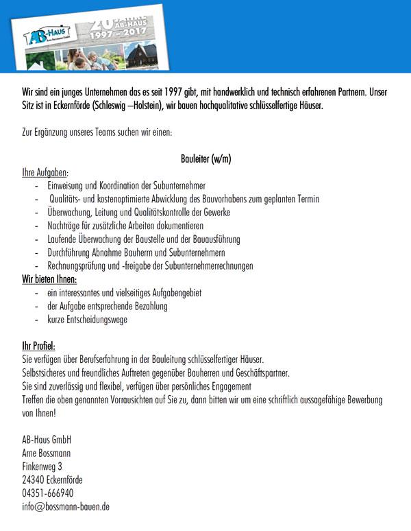 Bossmann-bauen-Stellenanzeige-Bauleiter-2020
